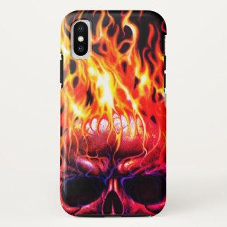Feuer skeleton iphone Hauptfall iPhone X Hülle