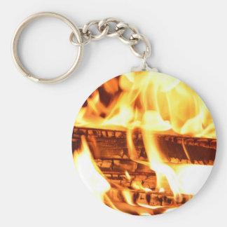 Feuerflammenentwurf Schlüsselanhänger