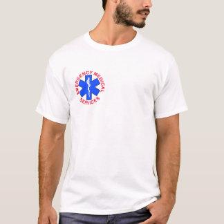 Feuerrettungs-Notfallmedizinischer T - Shirt EMS