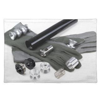 Feuerwaffen-entstör-Schalldämpfer mit Stofftischset