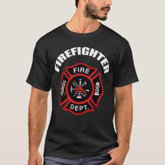 Feuerwehr-Abzeichen T-Shirt