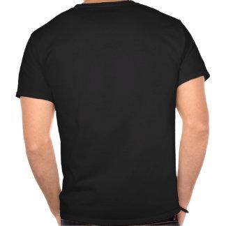 Feuerwehr-GoldAbzeichen-Gewohnheit T-shirt
