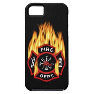 Feuerwehr-loderndes Abzeichen iPhone 5 Cover