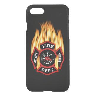 Feuerwehr-loderndes Abzeichen iPhone 7 Hülle