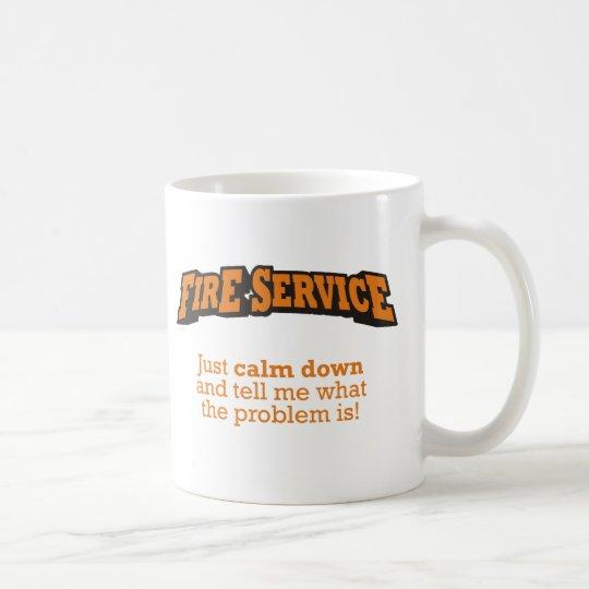Feuerwehr/Problem Kaffeetasse