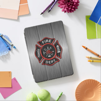 Feuerwehrmann-Abzeichen Deluxe iPad Pro Hülle