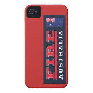 Feuerwehrmann-Australien-Telefonkasten iPhone 4 Cover