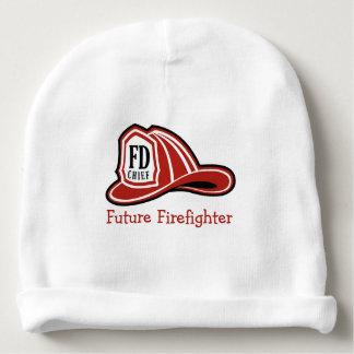 Feuerwehrmann-BabyBeanie Feuer-Abteilung Babymütze