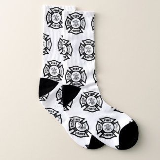 Feuerwehrmann-Brandmeister Socken