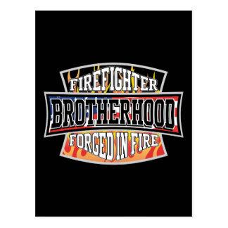 Feuerwehrmann-Bruderschaft Postkarten