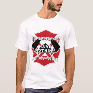 Feuerwehrmann-Ehefraut-stück T-Shirt
