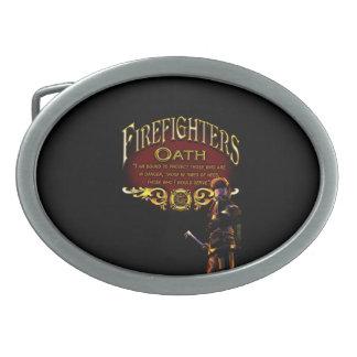 Feuerwehrmann-Eid Ovale Gürtelschnallen