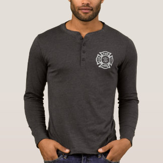 Feuerwehrmann-Feuer-Abteilungs-Logo-Shirt T-Shirt