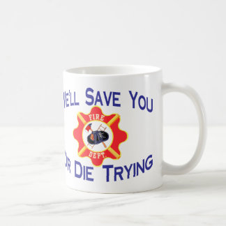 Feuerwehrmann Kaffeetasse
