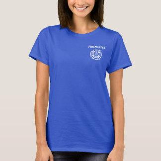 Feuerwehrmann-Logo T-Shirt