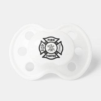 Feuerwehrmann-Malteserkreuz Baby Schnuller