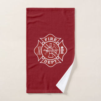 Feuerwehrmann-Malteserkreuz-Turnhallen-Tuch Handtuch