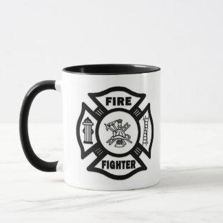 Feuerwehrmann maltesisch tasse