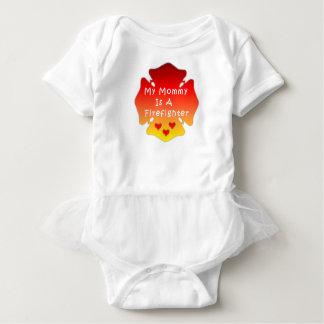 Feuerwehrmann-Mamma Baby Strampler