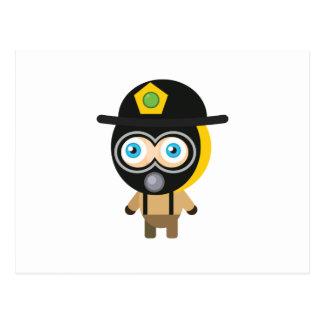 Feuerwehrmann - mein Erhaltungs-Park Postkarte
