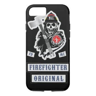 Feuerwehrmann-Motorrad-Verein iPhone 8/7 Hülle