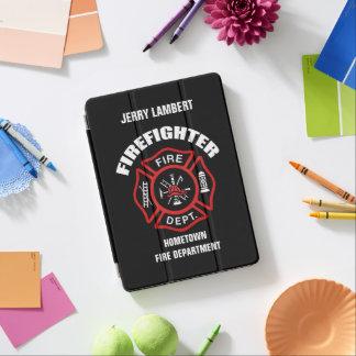 Feuerwehrmann-Namensschablone iPad Pro Hülle