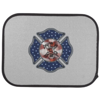 Feuerwehrmann patriotisch automatte