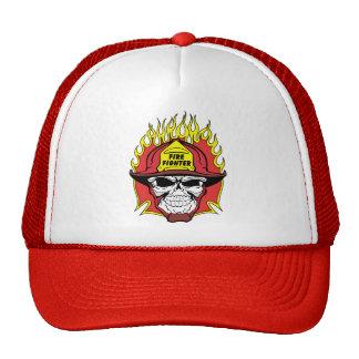 Feuerwehrmann-Schädel Kultmütze