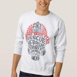 Feuerwehrmann-Shirt Sweatshirt