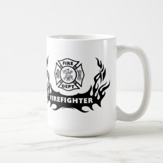 Feuerwehrmann-Tätowierung Kaffeetasse