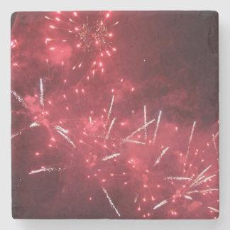 Feuerwerk-Getränk-Untersetzer Steinuntersetzer