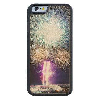 Feuerwerke Bumper iPhone 6 Hülle Ahorn