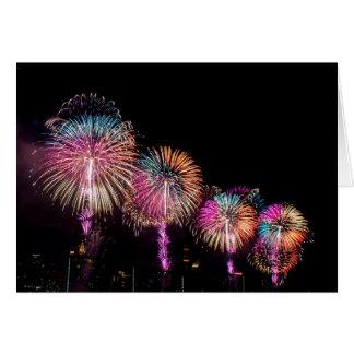 Feuerwerke in NYC Karte