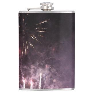 Feuerwerks-Flasche Flachmann