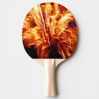 Feuerwerks-Klingeln Pong Paddel Tischtennis Schläger
