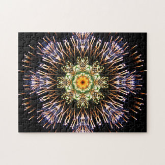 Feuerwerks-Mandala