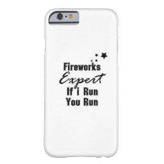 Feuerwerks-sachverständiges lustiges Juli 4. für Barely There iPhone 6 Hülle
