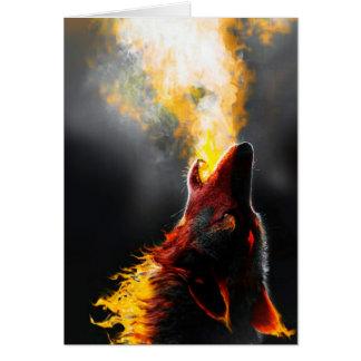 Feuerwolf Karte