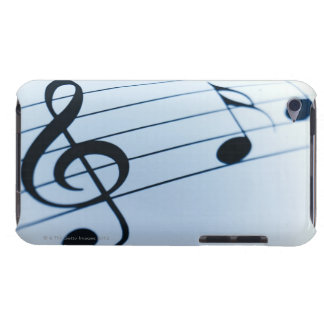 Feuille de musique coque barely there iPod