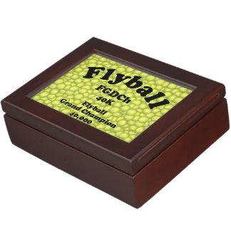 FGDCh, Flyball großartiger Champion, 40.000 Punkte Erinnerungsdose