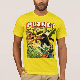 FI der Vierzigerjahre PLANETEN-COMIC-SCI T-Shirt