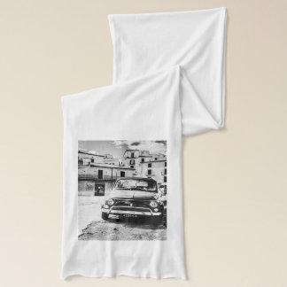 Fiat 500, cinquecento in Italien, klassisches Schal