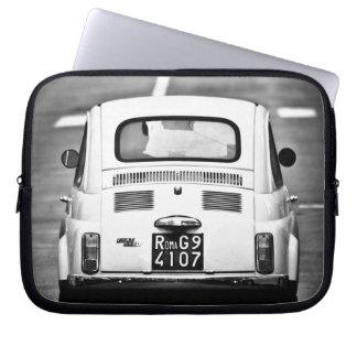 Fiat 500, cinquecento, in Rom, Laptophülse Computer Sleeve Schutzhülle