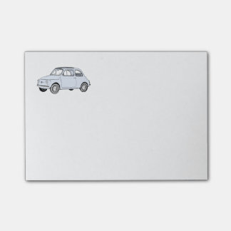 Fiat 500 Topolino Post-it Klebezettel