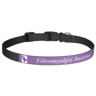 Fibromyalgia-Bewusstseins-Hundehalsband Leine