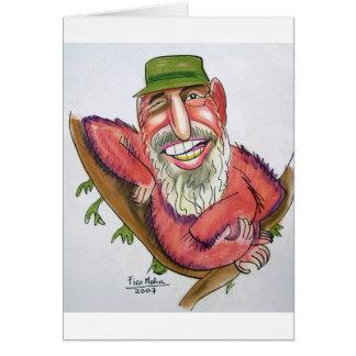 Fidel Castro Grußkarte