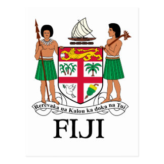 FIDSCHI - Emblem/Flagge/Wappen/Symbol Postkarte