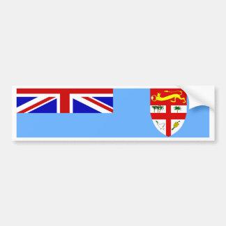 Fidschi-Flagge Autoaufkleber