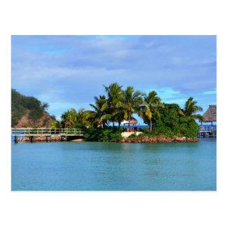 Fidschi Postkarte