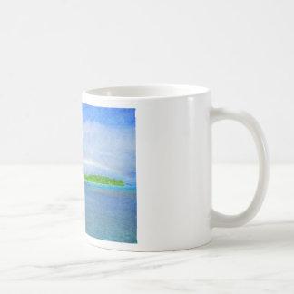 Fidschi-Regenbogen-Kaffee-Tasse Tasse